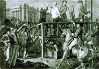 Execution of Catholic Monarch Louis XVI, January 21, 1793